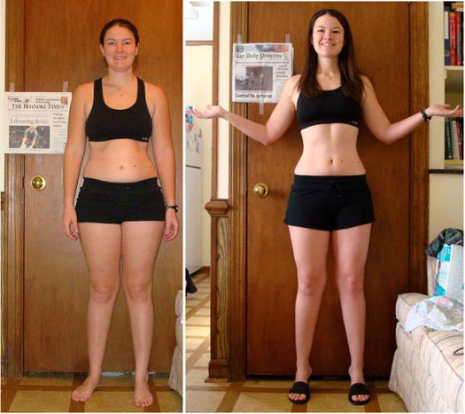 Rachel Loses Over 17 Pounds of Fat in Just 6 Weeks