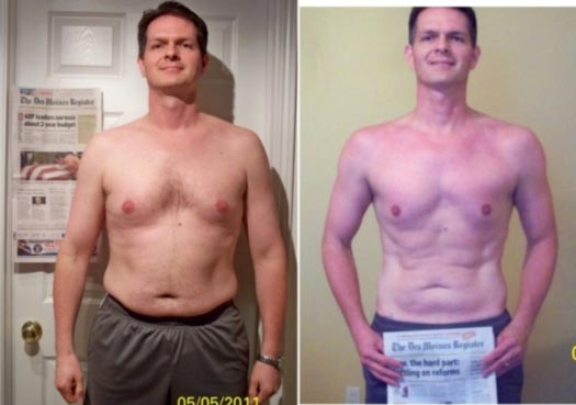 After 12 Weeks Neil Lost 17